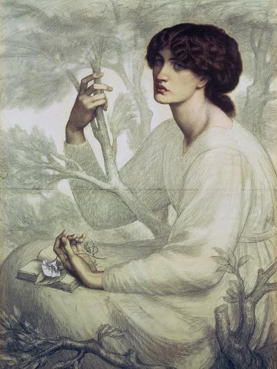 The Day Dream, 19th Century-Dante Gabriel Rossetti-Giclee Print