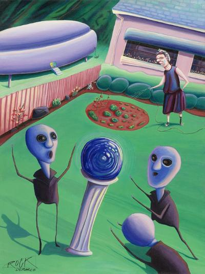 The Day Grandma Ruled the Universe-Rock Demarco-Giclee Print