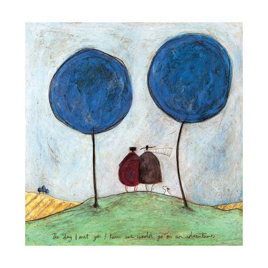 The Day I Met You-Sam Toft-Giclee Print