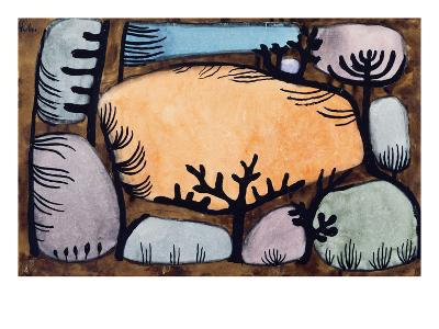 The Day in the Forest; Der Tag Im Wald-Paul Klee-Giclee Print
