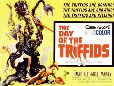The Day of the Triffids, UK Movie Poster, 1963--Art Print
