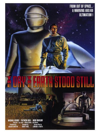 The Day The Earth Stood Still, 1951--Art Print