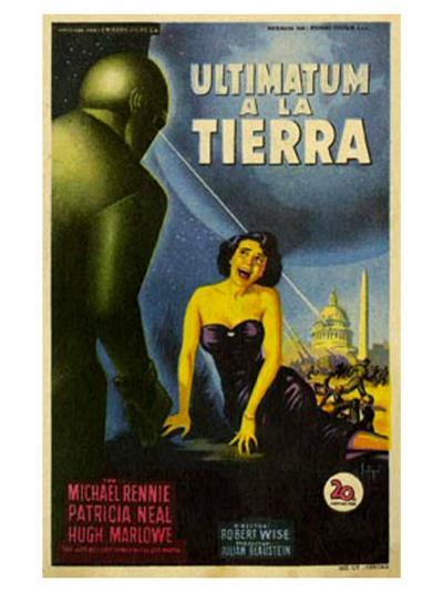 The Day The Earth Stood Still, Italian Movie Poster, 1951--Art Print