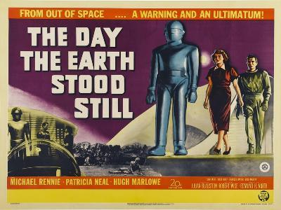 The Day The Earth Stood Still, UK Movie Poster, 1951--Art Print