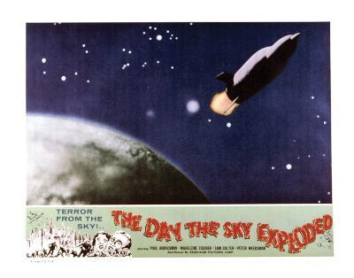 The Day The Sky Exploded - 1958--Giclee Print