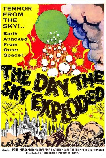 The Day the Sky Exploded--Art Print