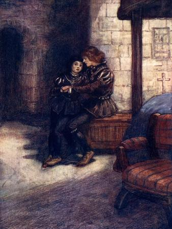 The Days Seemed Very Long and Dreary to the Two Little Boys, C1483-AS Forrest-Giclee Print