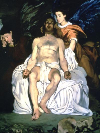 The Dead Christ and the Angels, 1864-Edouard Manet-Giclee Print