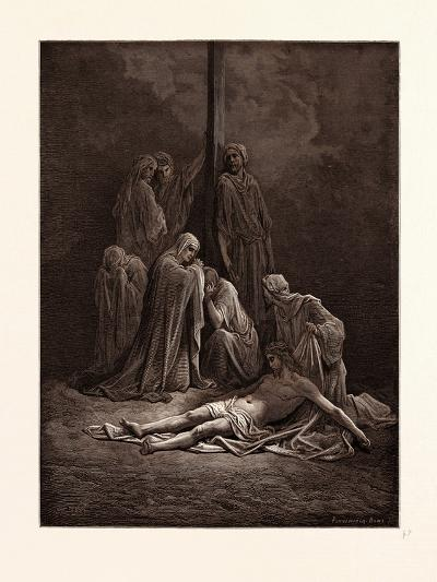 The Dead Christ-Gustave Dore-Giclee Print