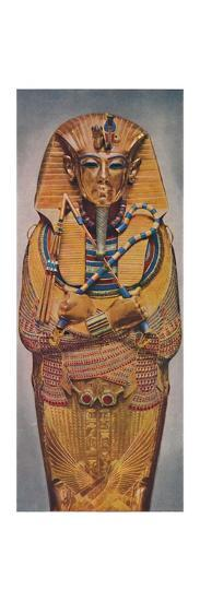 'The Dead Pharoah's Golden Coffin', c1935-Unknown-Giclee Print