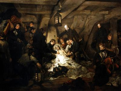 The Death of Admiral Lord Nelson, 1805-Arthur William Devis-Giclee Print