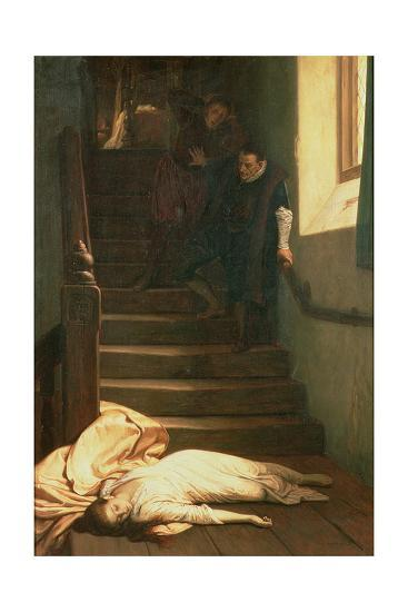 The Death of Amy Robsart in 1560, 1879-William Frederick Yeames-Giclee Print