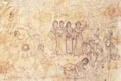 The Death of Ananias, C.1650-1680--Giclee Print
