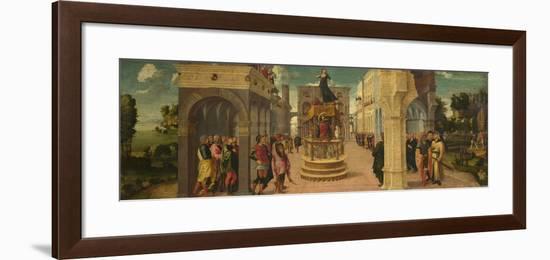 The Death of Dido, Early16th C-Liberale da Verona-Framed Giclee Print