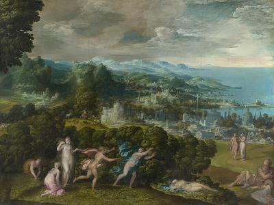 The Death of Eurydice, 1552-71-Niccolo dell' Abate-Giclee Print