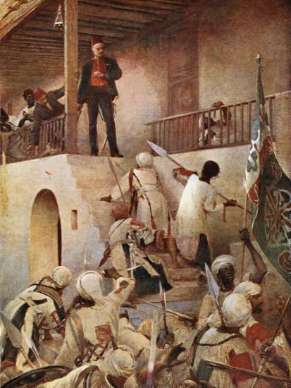 The Death of General Gordon-George William Joy-Giclee Print