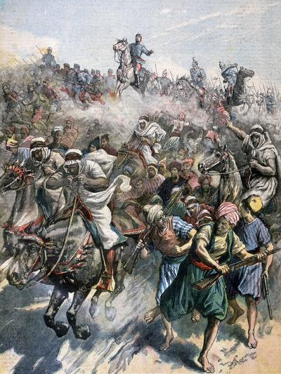 The Death of General Margallo, the Rif War, Morocco, 1893--Giclee Print