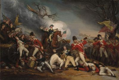 The Death of General Mercer at the Battle of Princeton, January 3, 1777-John Trumbull-Giclee Print