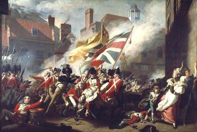 The Death of Major Peirson, 6 January 1781, 1783-John Singleton Copley-Giclee Print
