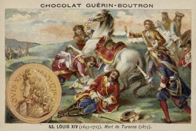 The Death of Marshal Turenne, 1675--Giclee Print
