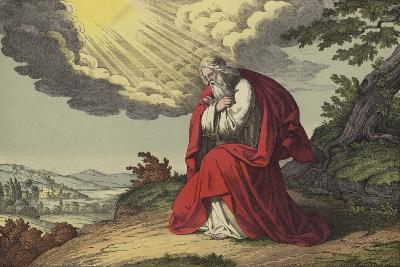 The Death of Moses--Giclee Print
