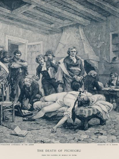 The Death of Pichegru-Georges Moreau De Tours-Giclee Print