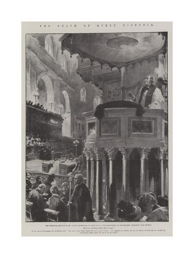 The Death of Queen Victoria-G.S. Amato-Giclee Print