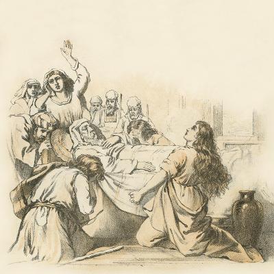 The Death of Samuel--Giclee Print