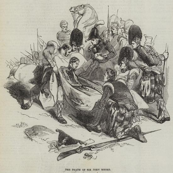 The Death of Sir John Moore--Giclee Print