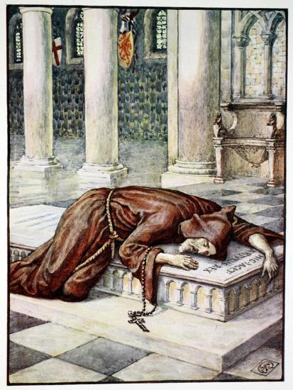 'The Death of Sir Lancelot', 1911-Unknown-Giclee Print