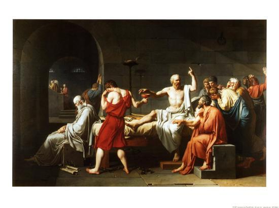 jacques louis david socrates