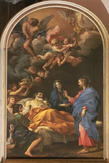 The Death of St. Joseph, 1676-Carlo Maratta or Maratti-Giclee Print