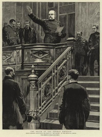 The Death of the German Emperor--Giclee Print