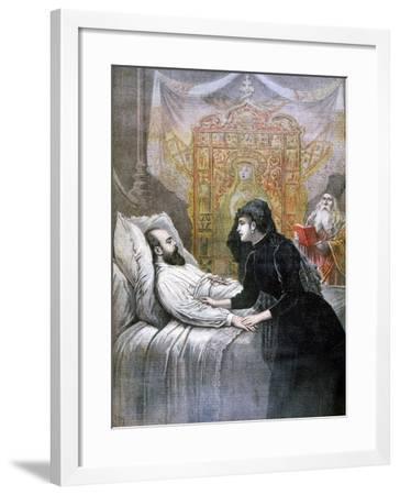 The Death of Tsar Alexander III of Russia, 1894-Henri Meyer-Framed Giclee Print