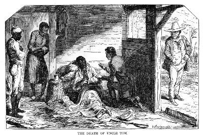 The Death of Uncle Tom, from Uncle Tom's Cabin Published 1852-William Heinemann Ltd-Giclee Print