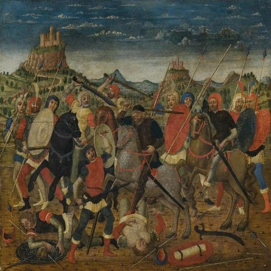 The Death of Uriah the Hittite-Bernardino Luini-Giclee Print