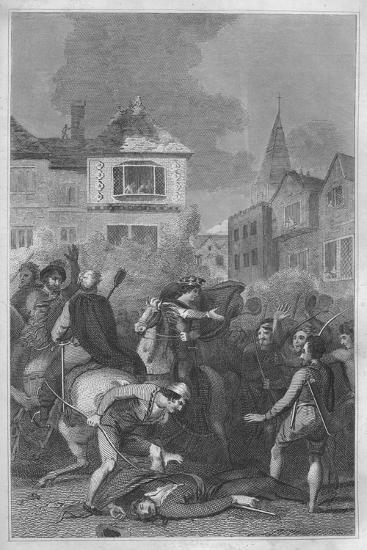 'The Death of Wat Tyler', 1838-Unknown-Giclee Print