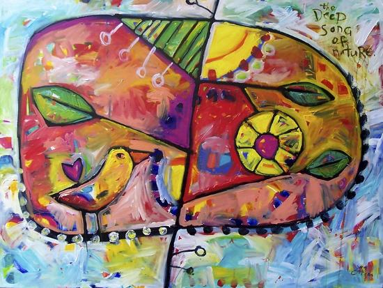 The Deep Song of Nature-Sara Catena-Giclee Print
