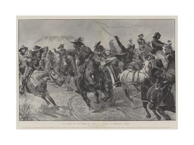 The Defeat of Lord Methuen's Force by Delarey at Tweebosch, 7 March-Richard Caton Woodville II-Giclee Print