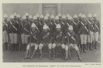 The Defence of Mafeking, Group of Cape Mounted Police--Giclee Print