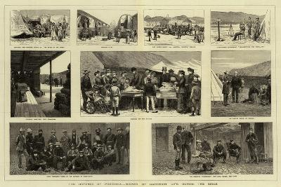 The Defence of Pretoria, Scenes of Garrison Life During the Siege--Giclee Print