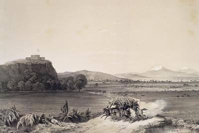 The Defence of the Castle of Chapultepec Against the Americans in 1847--Giclee Print