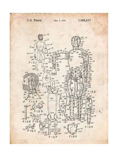 The Defenders Toy 1976 Patent-Cole Borders-Art Print