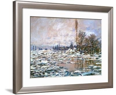 The Defrost, C Early 20th Century-Claude Monet-Framed Giclee Print