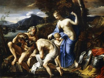 The Deification of Aeneas, 1642-1645-Francois Perrier-Giclee Print