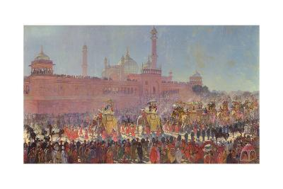 The Delhi Durbar, 1903-Roderick D. MacKenzie-Giclee Print