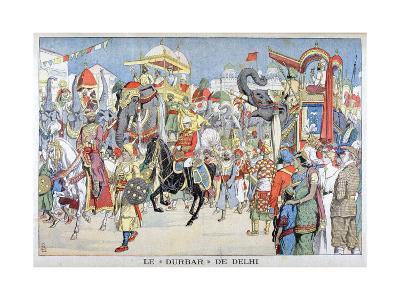 The Delhi Durbar, 1903--Giclee Print