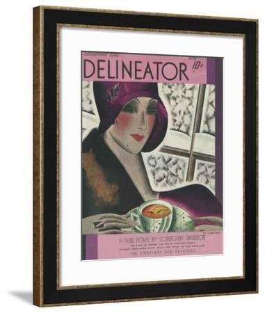 The Delineator November 1929--Framed Giclee Print