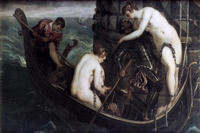 The Deliverance of Arsinoe, after 1560-1594-Jacopo Tintoretto-Giclee Print