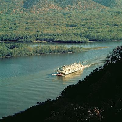 The 'Delta Queen', Mississippi River--Giclee Print